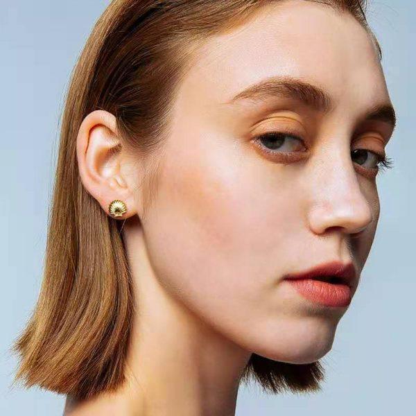 Ooak Shell Earring