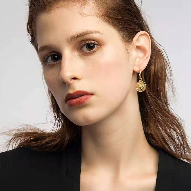 Ooak Woolf Earrings