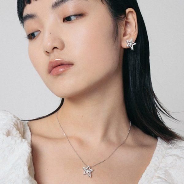 OOAK Dancing Star Necklace