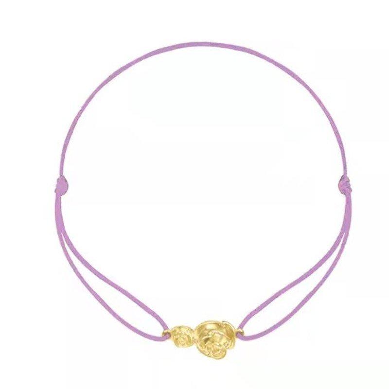 OOAK Gold Rose Hand string