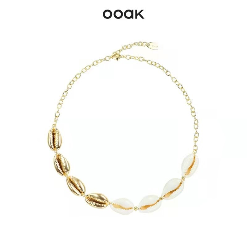 Metal Shell Necklace