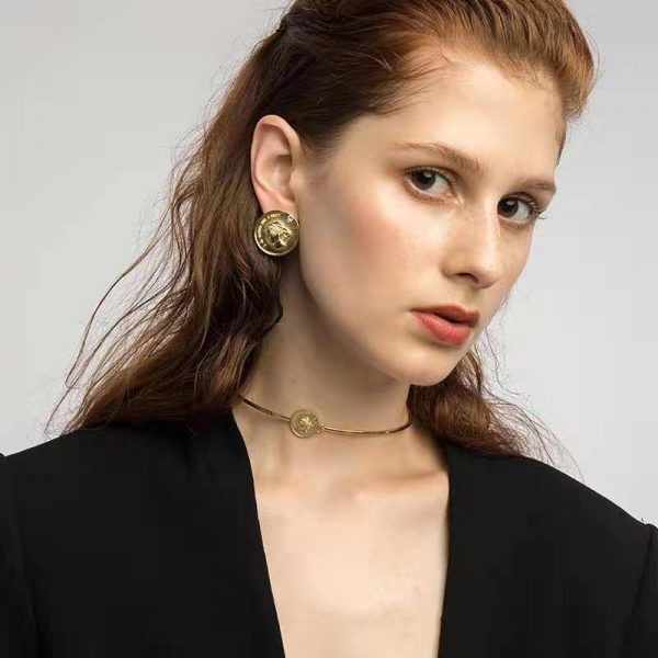 Woolf Coin Earclips