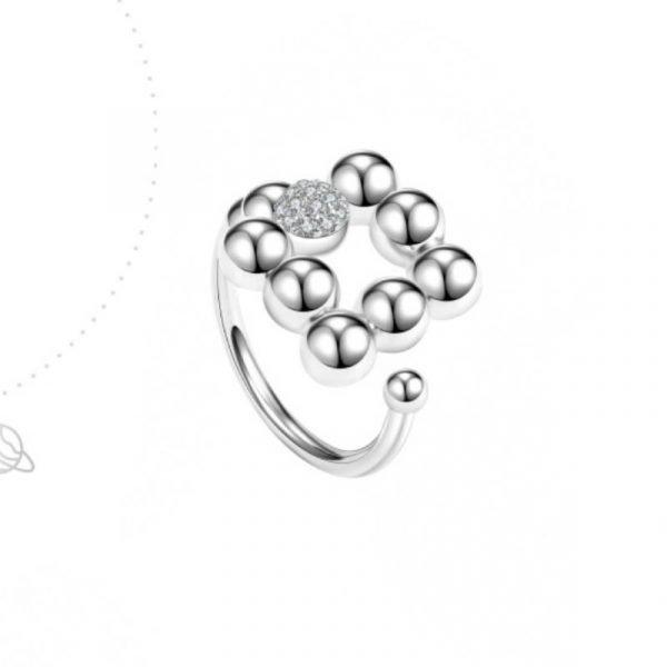 Abyb Adjustable Zircon Ring