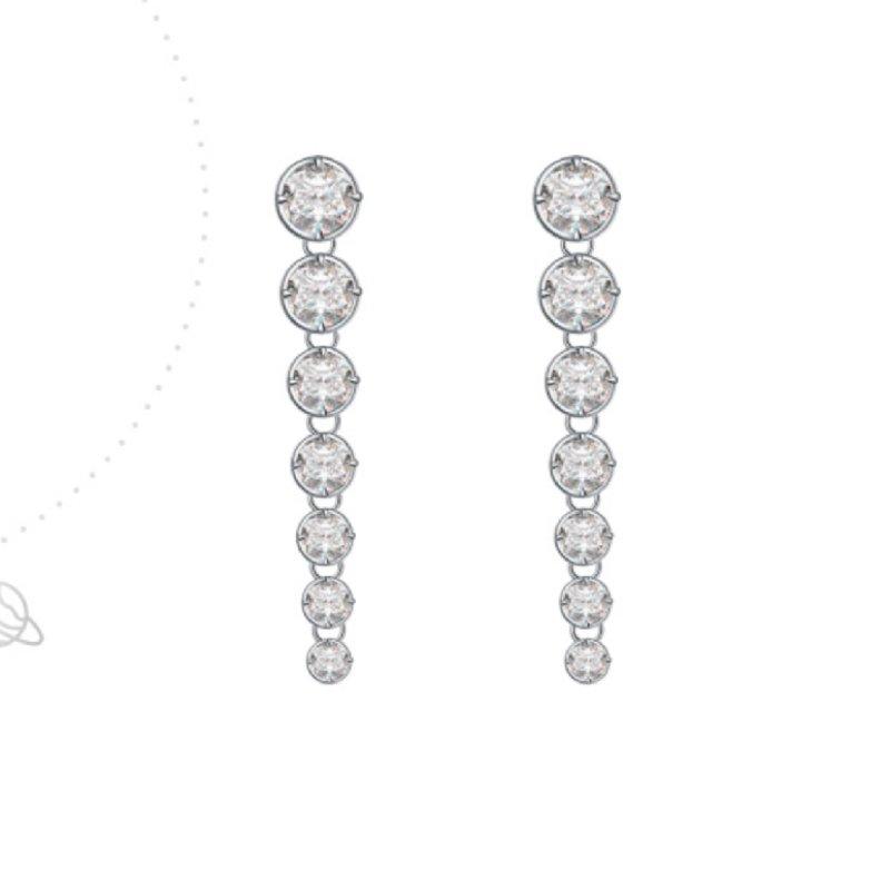Abyb Backwater Long Diamond Earrings 5