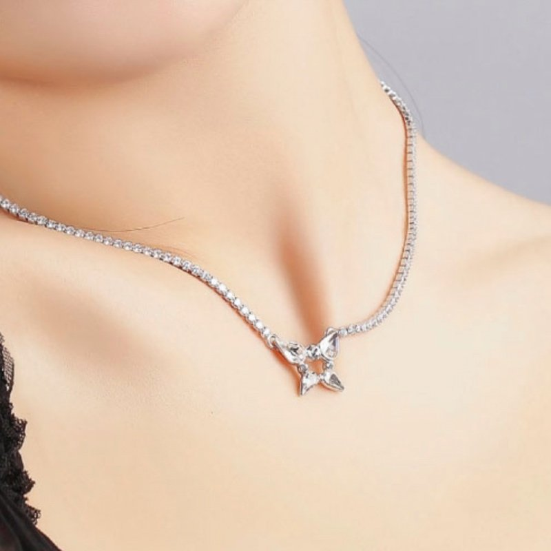 Abyb Heartbreak Clavicle Necklace 5