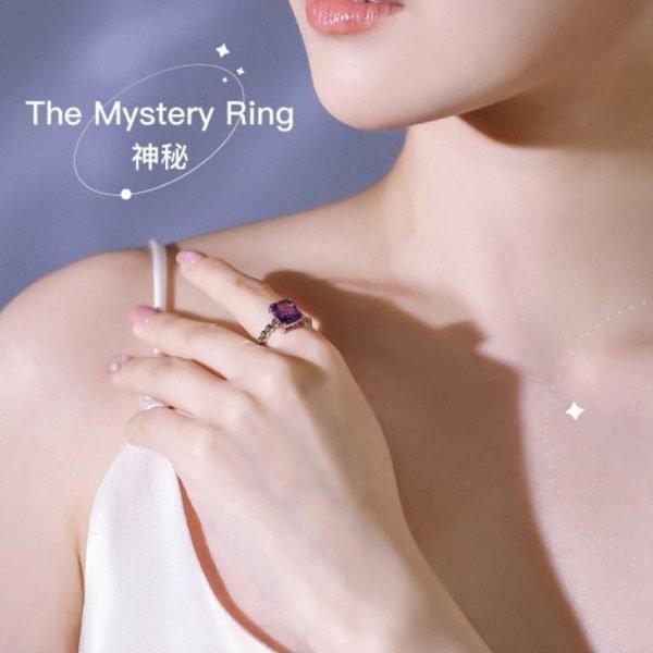 Abyb Mystery Series Gemstone Ring