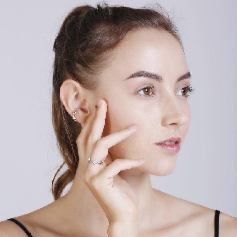Abyb Universe Ear Cuff Earrings
