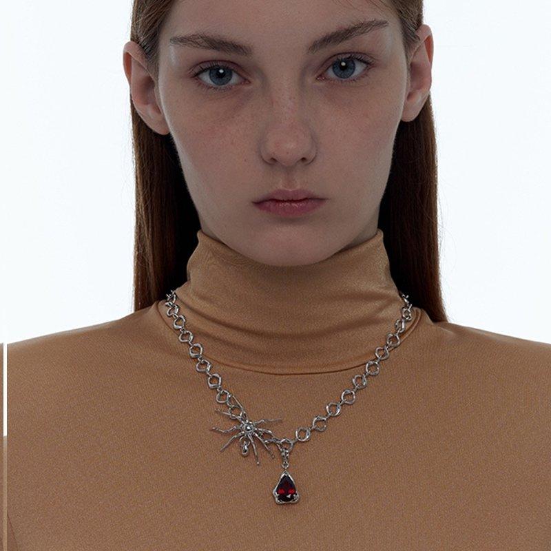 Kvk Blood Drop Necklace 3