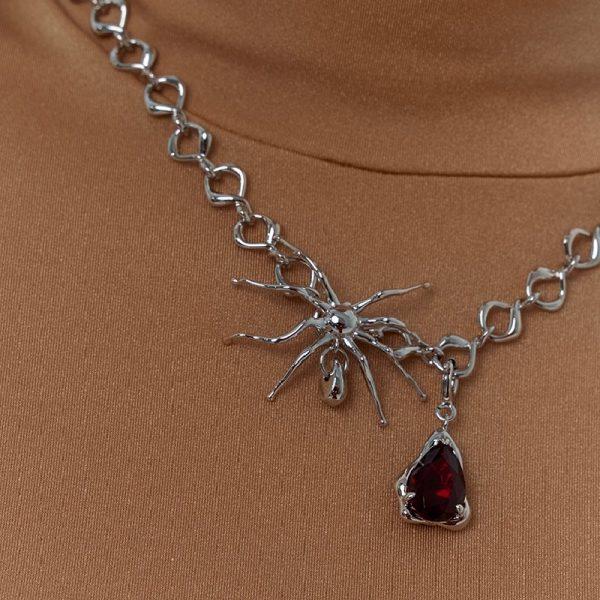 Kvk Blood Drop Necklace 4