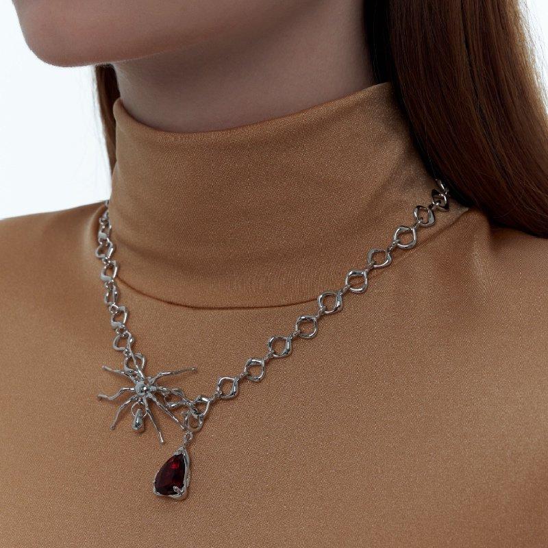 Kvk Blood Drop Necklace