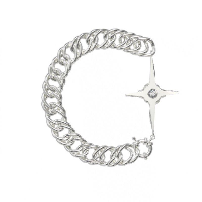 Kvk Cross Pendant Bracelet 2