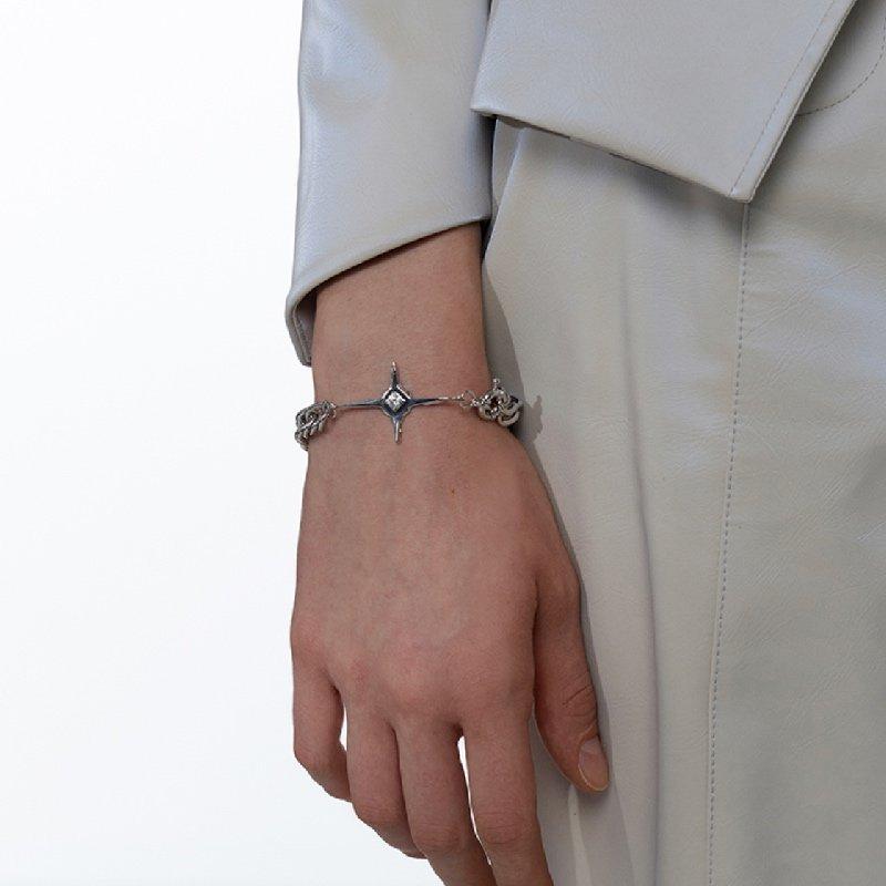 Kvk Cross Pendant Bracelet 3