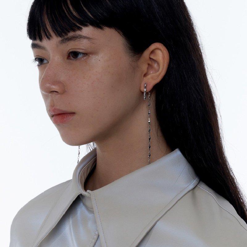 Kvk Long Fringed Earrings