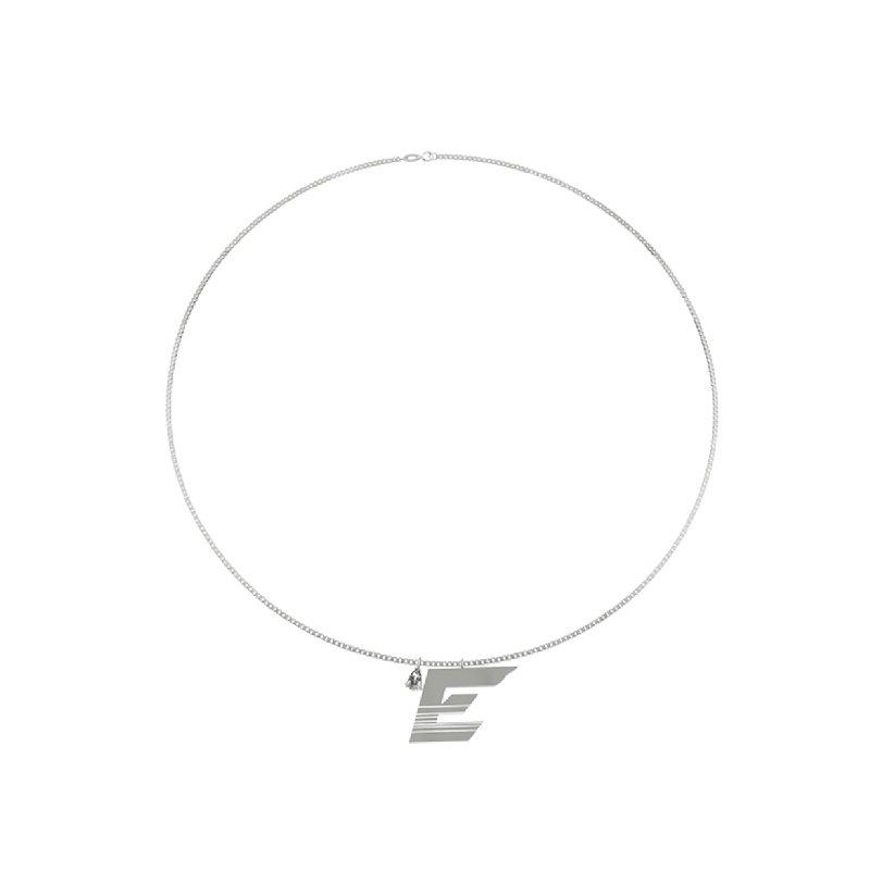 Kvk Speed Racer Alphabet Necklace 5